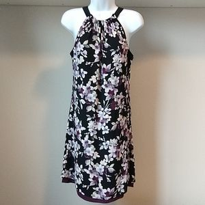 WHBM Reversible Floral Halter Dress - 6